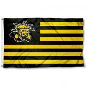 Wichita State Shockers Stripes Flag