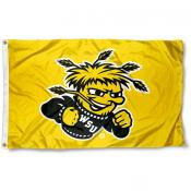 Wichita State University Gold 3x5 Flag