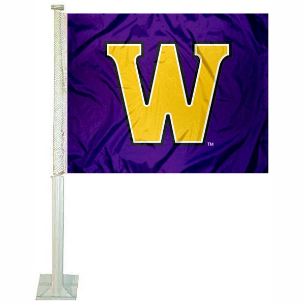Williams Ephs Car Flag measures 12x15 inches, is constructed of sturdy 2 ply polyester, and has screen printed school logos which are readable and viewable correctly on both sides. Williams Ephs Car Flag is officially licensed by the NCAA and selected university.