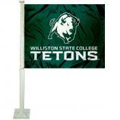 Williston State Tetons Car Window Flag
