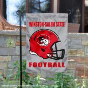 Winston Salem State University Helmet Yard Flag