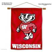 Wisconsin Badgers Wall Banner