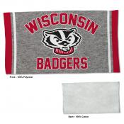 Wisconsin Badgers Workout Exercise Towel