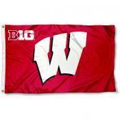 Wisconsin Big 10 Flag