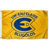 Wisconsin Eau Claire Blugolds Flag
