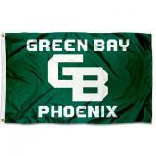 Wisconsin Green Bay Phoenix GB Logo Flag