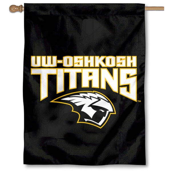 Wisconsin Oshkosh Titans Double Sided House Flag is a vertical house flag which measures 30x40 inches, is made of 2 ply 100% polyester, offers screen printed NCAA team insignias, and has a top pole sleeve to hang vertically. Our Wisconsin Oshkosh Titans Double Sided House Flag is officially licensed by the selected university and the NCAA.
