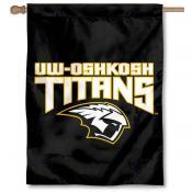 Wisconsin Oshkosh Titans Double Sided House Flag