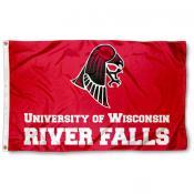 Wisconsin River Falls Falcons Flag
