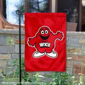 WKU Hilltoppers Big Red Mascot Garden Flag