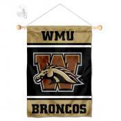 WMU Broncos Window and Wall Banner