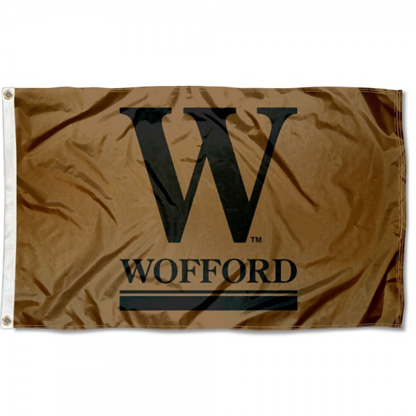 Wofford Terriers Flag is made of 100% nylon, offers quad stitched flyends, measures 3x5 feet, has two metal grommets, and is viewable from both side with the opposite side being a reverse image. Our Wofford Terriers Flag is officially licensed by the selected college and NCAA