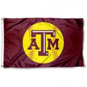 Women Aggies Softball Flag