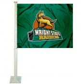 Wright State University Car Window Flag