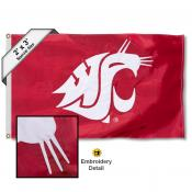 WSU Cougar Small 2'x3' Flag