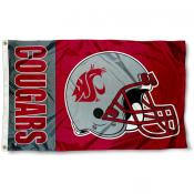 WSU Cougars Football Flag