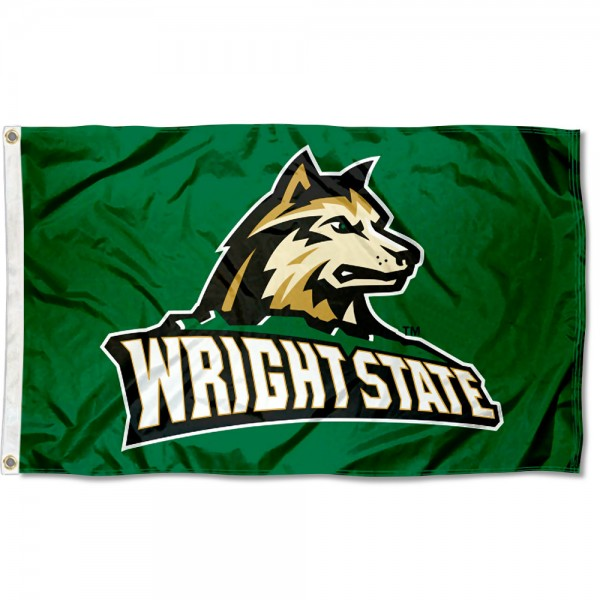 WSU Raiders New Logo Flag measures 3x5 feet, is made of 100% polyester, offers quadruple stitched flyends, has two metal grommets, and offers screen printed NCAA team logos and insignias. Our WSU Raiders New Logo Flag is officially licensed by the selected university and NCAA.