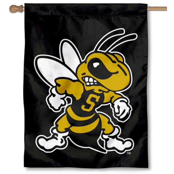 WVSU Yellow Jackets House Flag is a vertical house flag which measures 30x40 inches, is made of 2 ply 100% polyester, offers screen printed NCAA team insignias, and has a top pole sleeve to hang vertically. Our WVSU Yellow Jackets House Flag is officially licensed by the selected university and the NCAA.