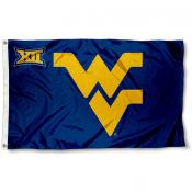 WVU Mountaineers Big 12 Flag