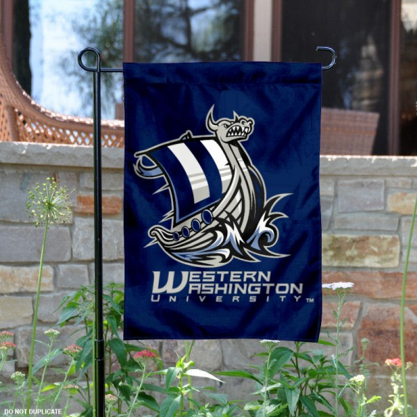 WWU Vikings Garden Flag