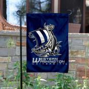 WWU Vikings Garden Flag
