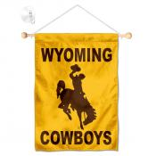 Wyoming Cowboys Banner with Suction Cup
