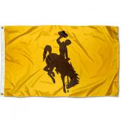 Wyoming Cowboys Gold Flag