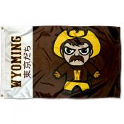 Wyoming Cowboys Kawaii Tokyodachi Yuru Kyara Flag
