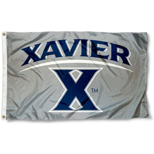 Xavier 3x5 Feet Flag measures 3'x5', is made of 100% poly, has quadruple stitched sewing, two metal grommets, and has double sided Xavier University Musketeers logos. Our Xavier 3x5 Feet Flag is officially licensed by Xavier University Musketeers and the NCAA.