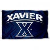 Xavier Musketeers Blue 3x5 Foot Flag