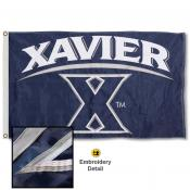 Xavier Musketeers Nylon Embroidered Flag