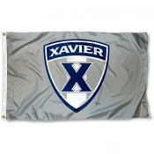 Xavier University Gray 3'x5' Flag