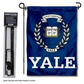 Yale University Garden Flag and Stand