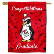Youngstown State Penguins Congratulations Graduate Flag