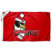 Youngstown State Penguins Large 4x6 Flag