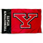Youngstown State YSU Penguins Flag