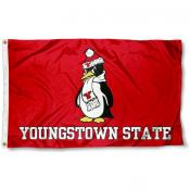 YSU Penguins Logo Outdoor Flag