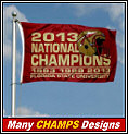 Florida State Champions Flags