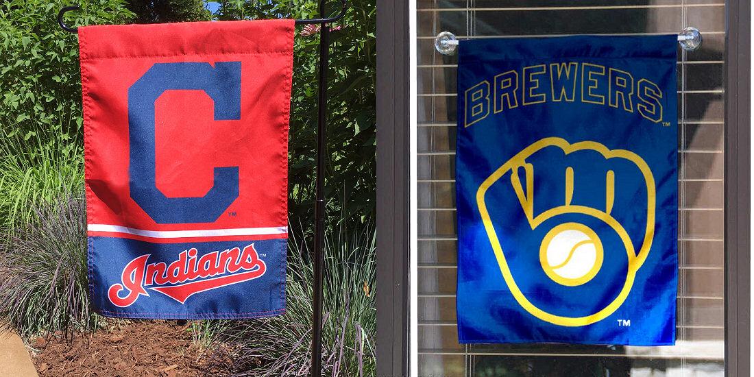 MLB Garden Flag