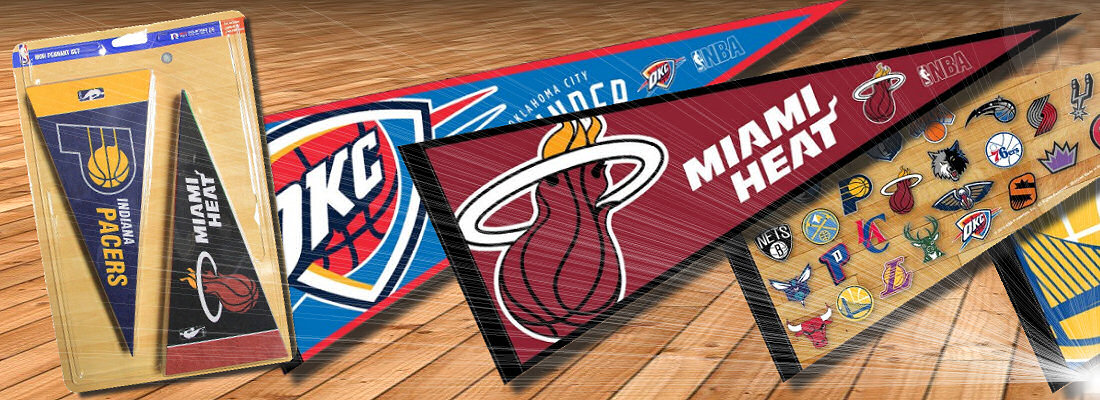 NBA Team Pennants