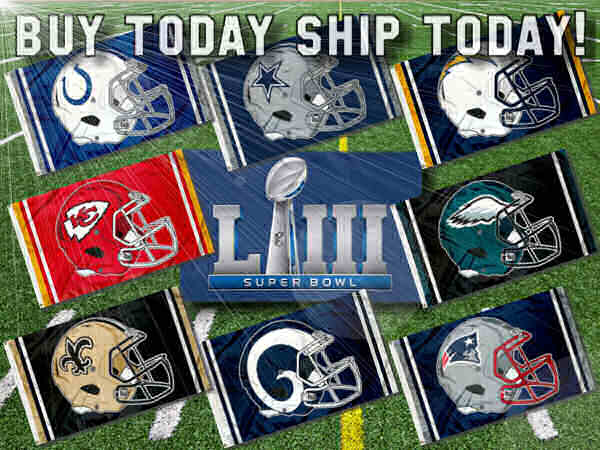 NFL Playoff Flags