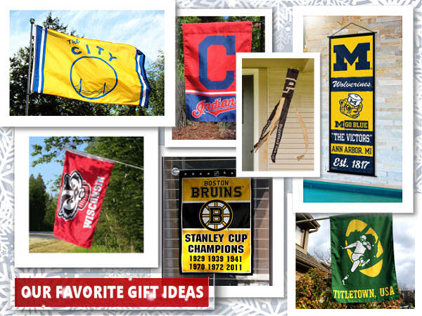 Sports Flags and Pennants Gifts and Presents