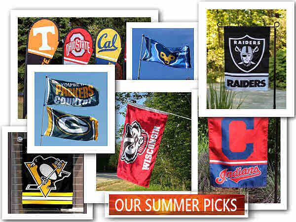 Sports Flags for Summer Gifts