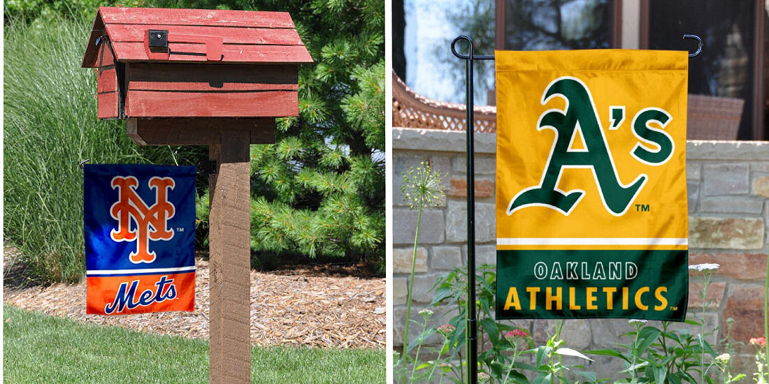Garden and Yard Flags for MLB Teams