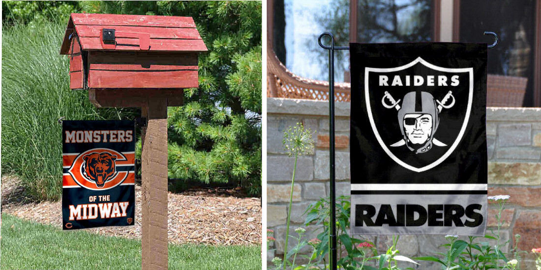Garden and Yard Flags for NFL Teams