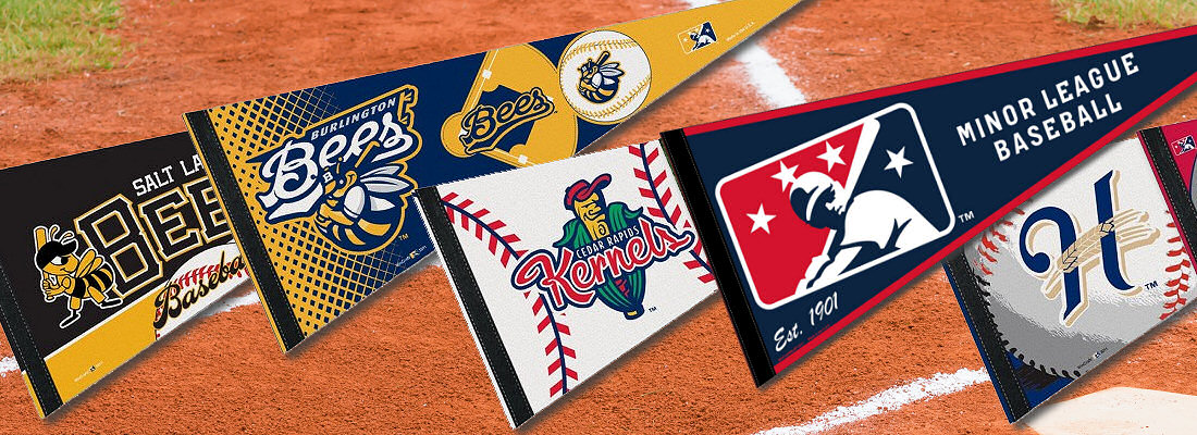 Minor League Baseball Flags