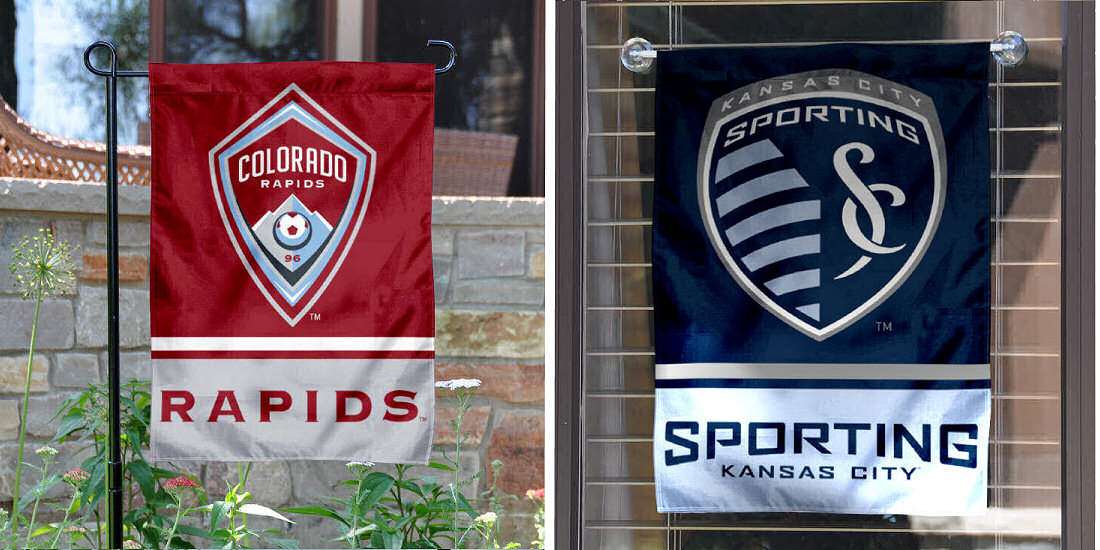 MLS Garden Flags