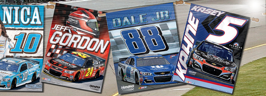 Driver Nascar Banners