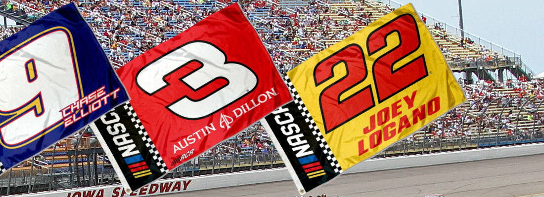 NASCAR Driver Flag
