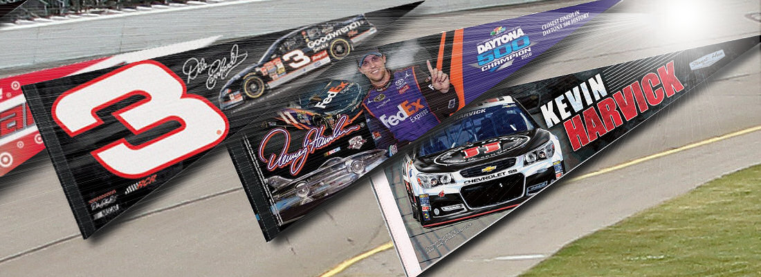 NASCAR Driver Pennants